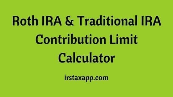 ira roth vs traditional contribution