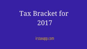 tax-bracket-for-2017