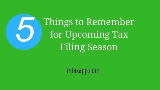 upcoming-tax-filing-season