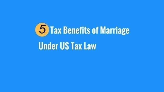 tax benefits of marriage