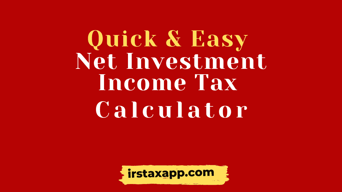 easy net investment income calculator