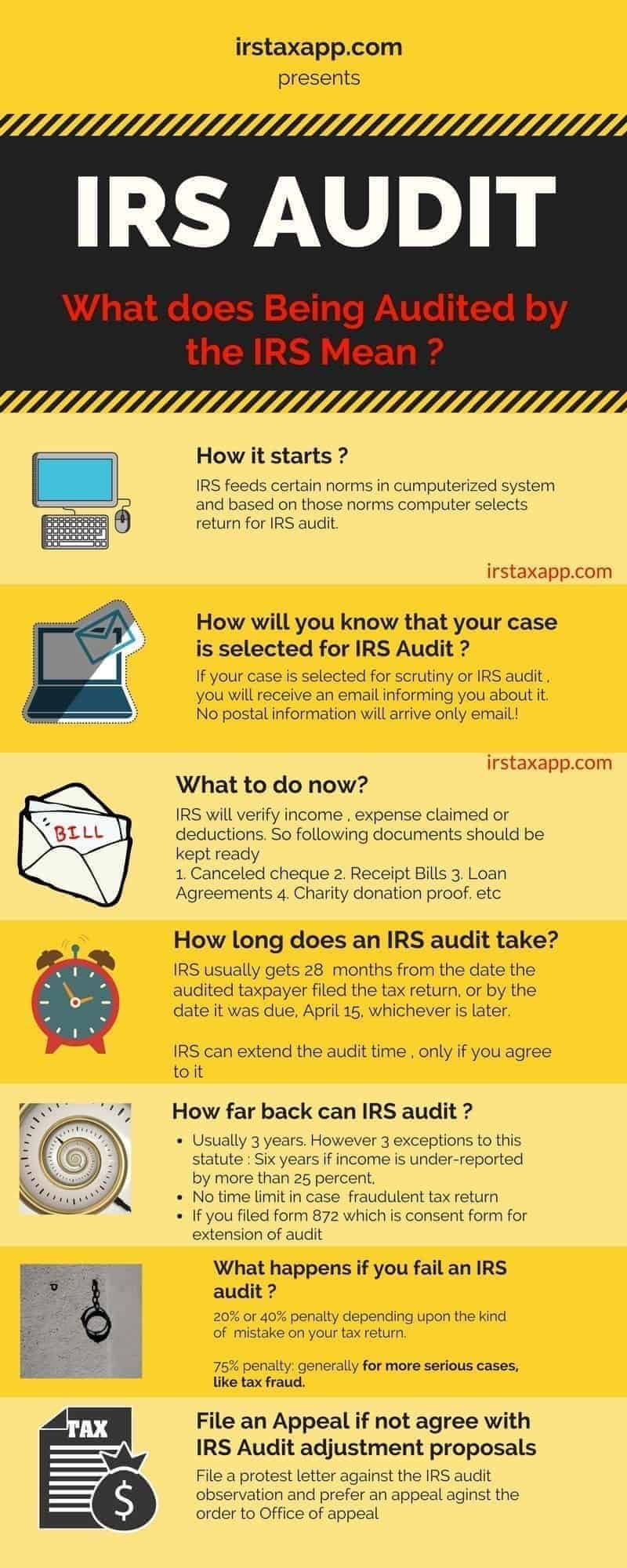 what is an irs audit