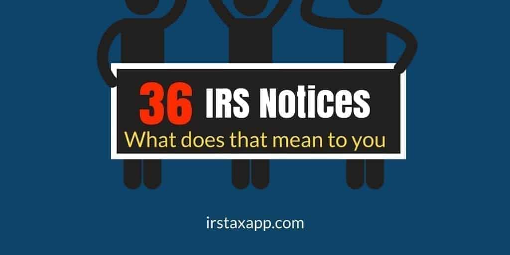 What do IRS Notices mean_