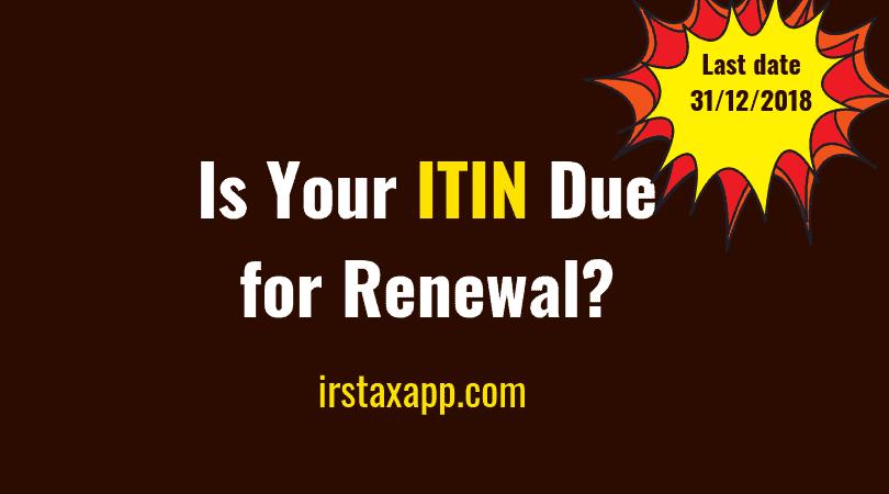 ITIN Renewal