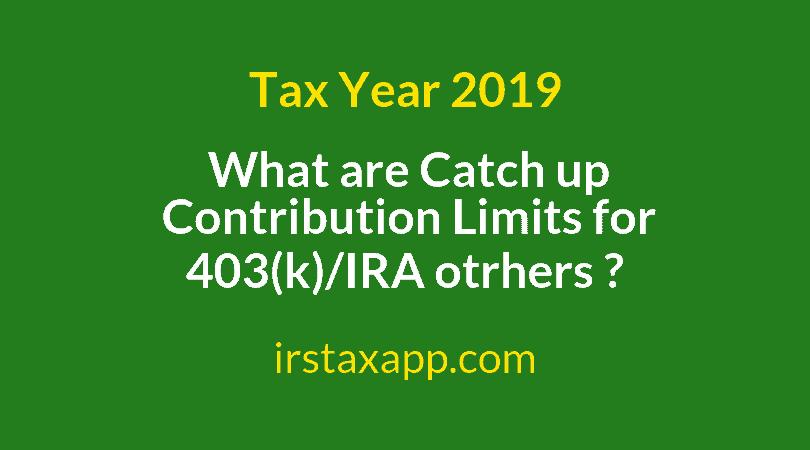 catch up contribution limit