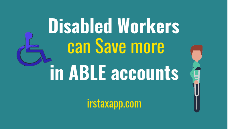 able accounts for disabled