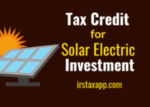 Gift Solar Electric & Claim Investment Tax Credit