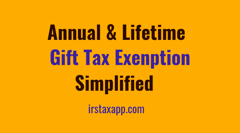 How the annual gift tax exclusion works