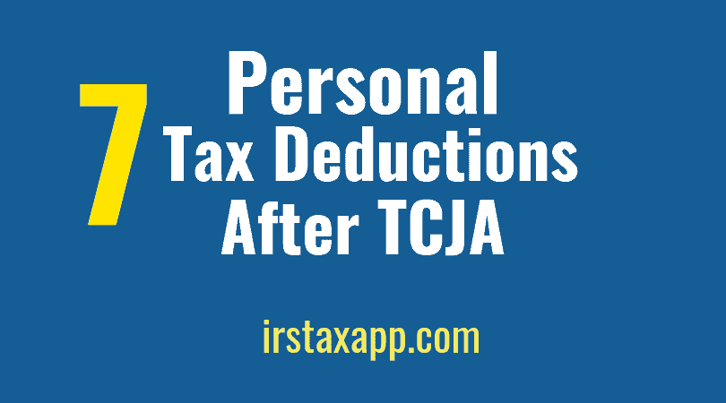 Top 7 Of Tax Deductions List For Individuals