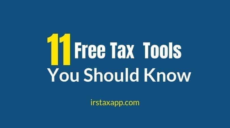 irs tax help tools