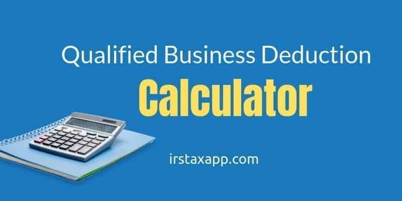 20% QBI Deduction Calculator