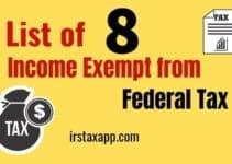8 Nontaxable Income List