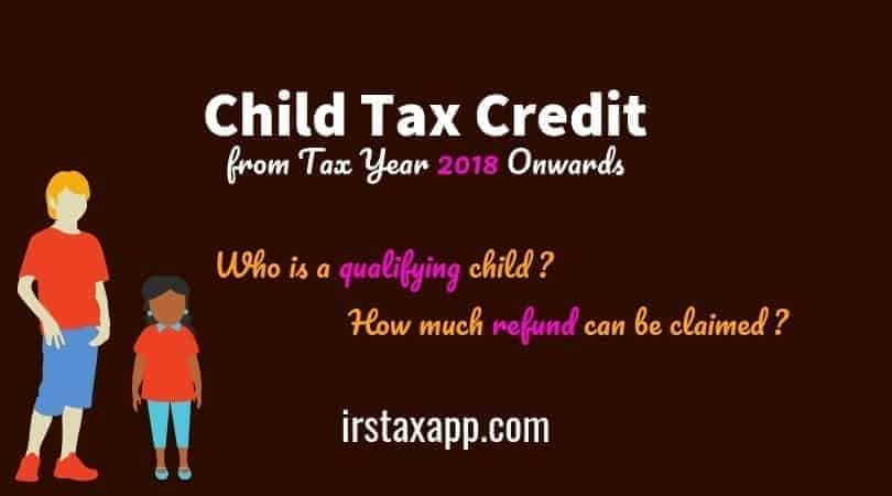Child Tax Credit 2018 & 2019