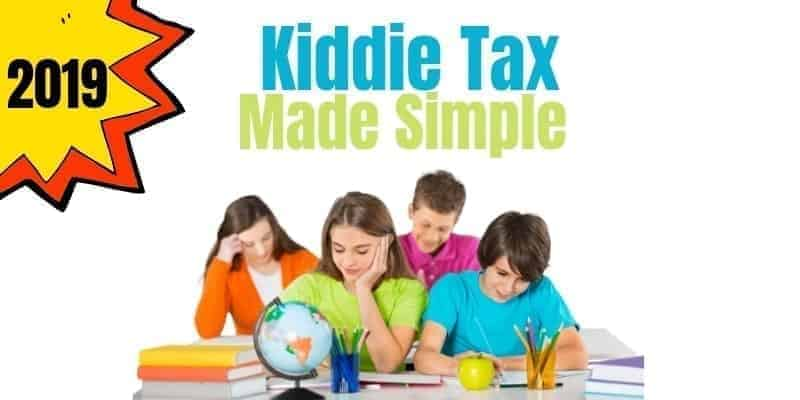 Kiddie Tax Calculation Made Simple ! | Internal Revenue Code
