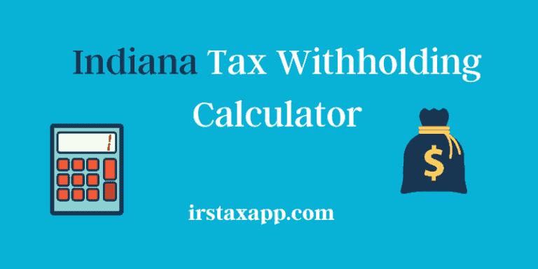 indiana tax calculator