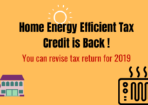 How to Get Home Energy Efficient Tax Credit