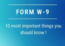 W9 Form: 10 Most Important Things You Must Know!