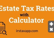 Calculator with 2020 Estate Tax Rates