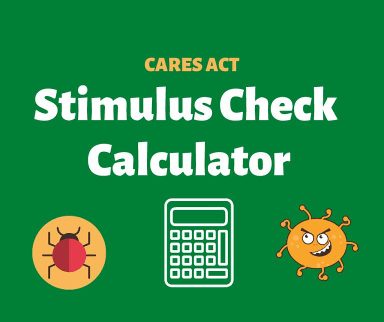 stimulus check calculator