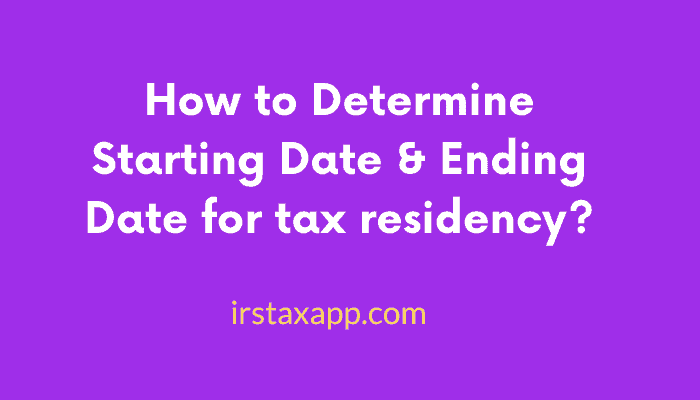 How to Determine Starting Date Ending Date 1