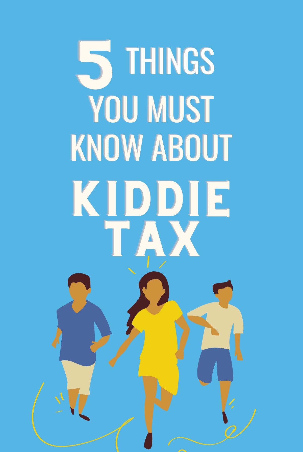 kiddie tax 2020