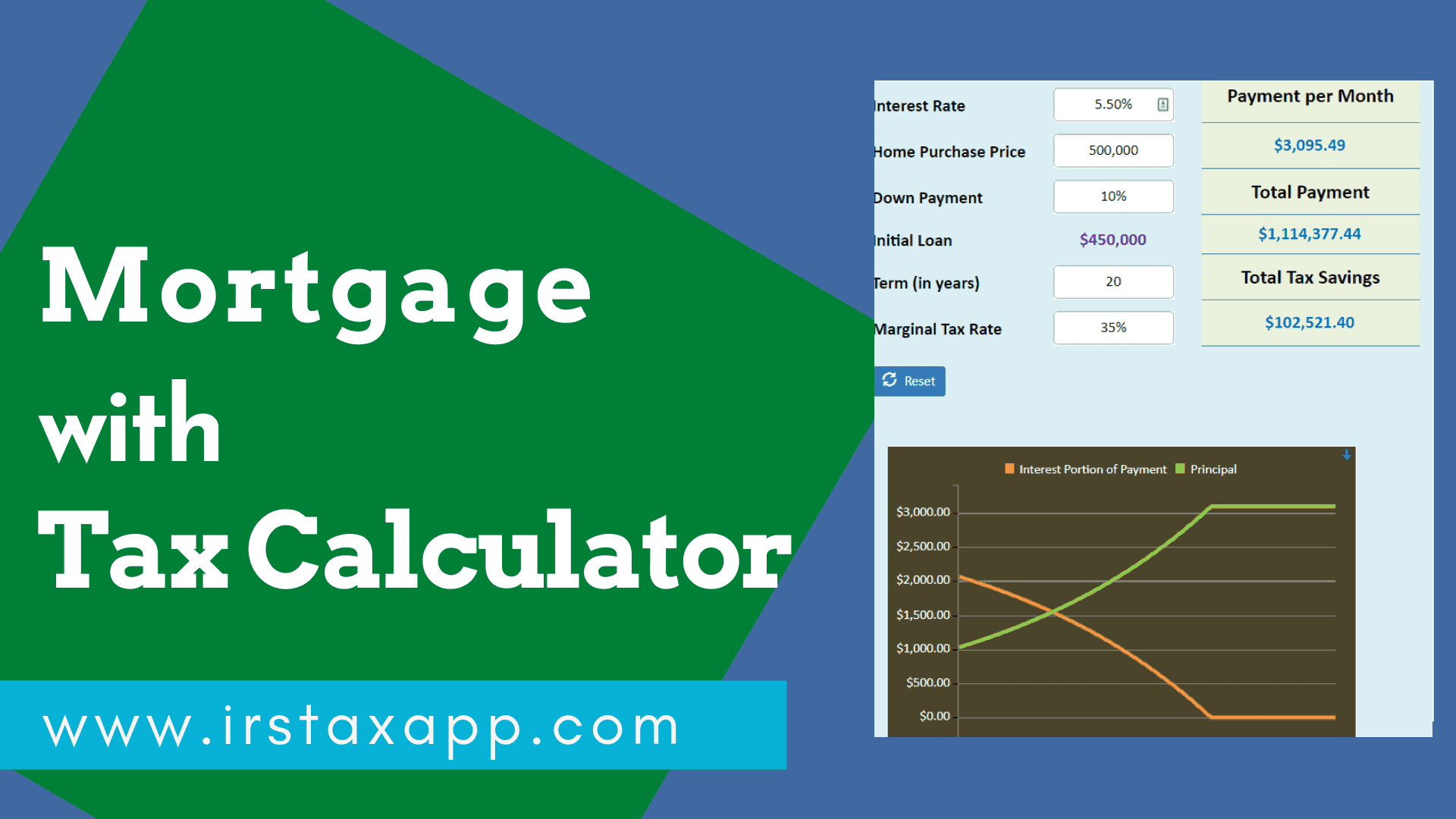 mortgage with tax Calculator