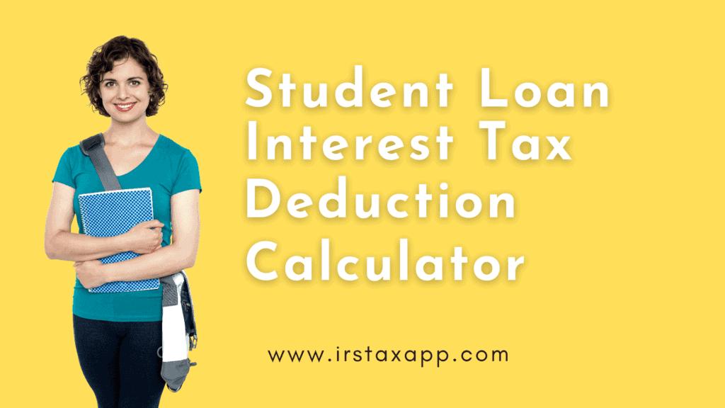 student loan interest  tax deduction
