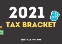 2021 IRS Tax Bracket