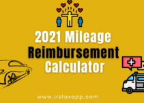 2021 Mileage Reimbursement Calculator