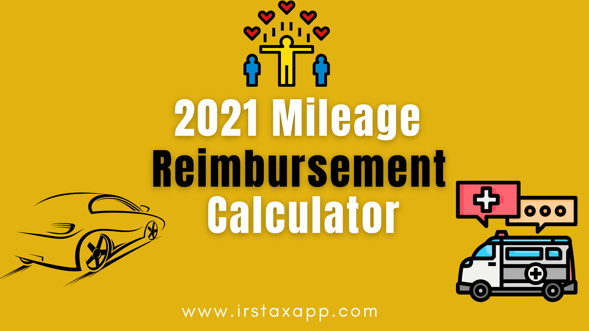 2021 gas mileage reimbursement calculator