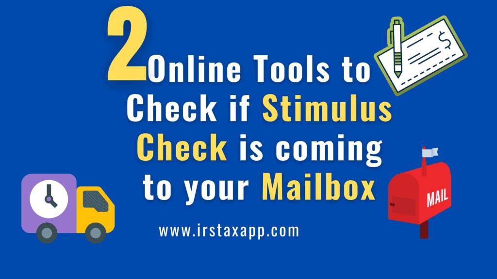 online tool stimulus check
