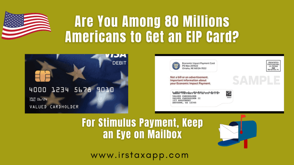 Stimulus Payment as Debit Card