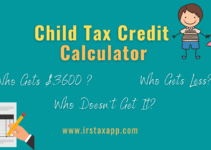 2021 Child Tax Credit Calculator