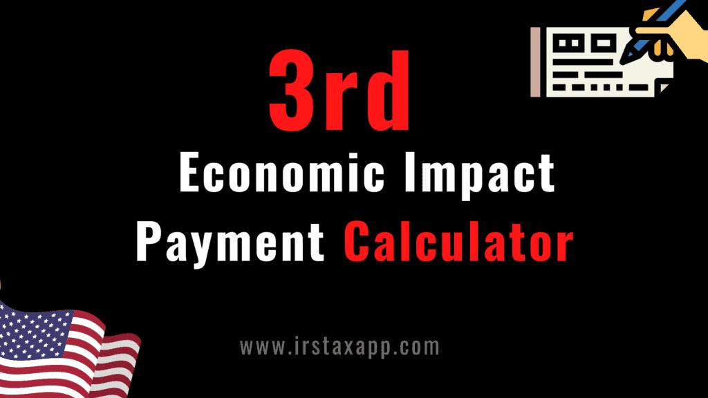third stimulus check calculator
