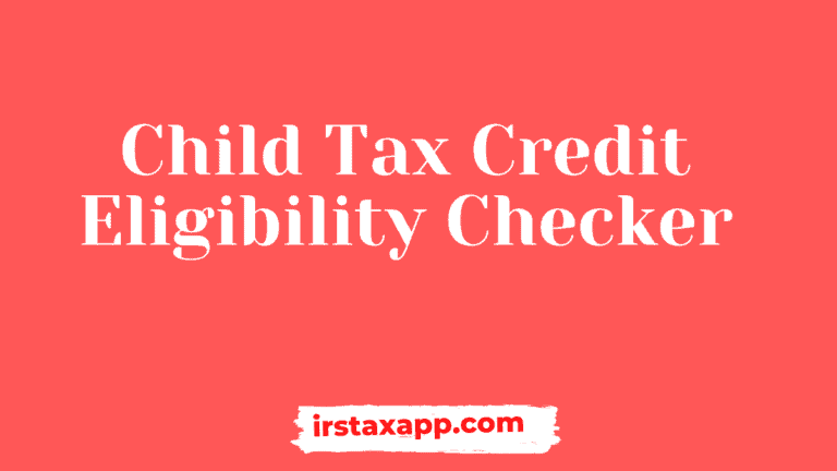 child tax credit eligibility calculator