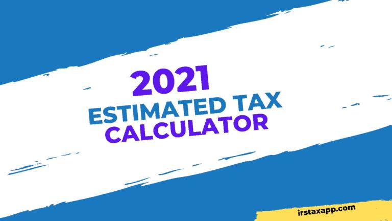 2021 estimated tax