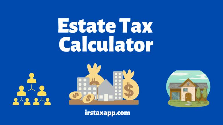 estate tax calculator
